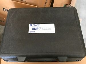 Brady Bmp71 Label Printer Hard Case Only With Foam New