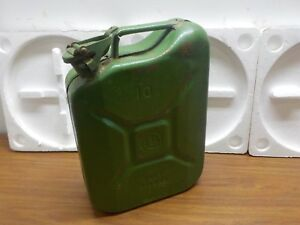 82 Ural Dnepr Bmw Jerry Gas Fuel Can Canister Soviet Union Military 10 L