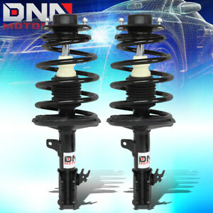 For 1997 2003 Toyota Camry solara 4 cyl Pair L r Front Coil Spring Shock Struts
