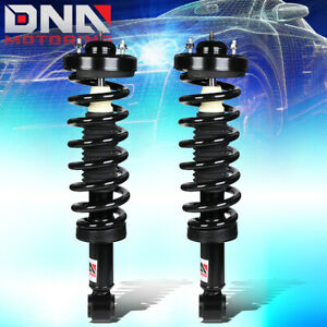 For 2004 2008 Ford F150 Lincoln Mark Lt Rwd Pair Front Coil Spring Shock Struts