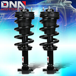 For 2007 2014 Chevy Avalanche Gmc Yukon Xl Pair Front Coil Spring Shock Struts