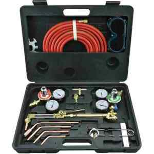 Gas Welding And Cutting Torch Kit Victor Type Torch Set Regulator 10921