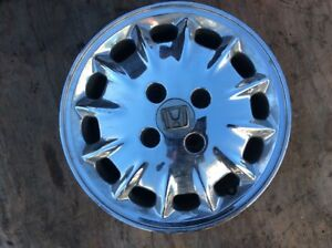 96 97 Accord One Factory Alloy Wheel Rim 15x5 1 2 12spoke Chrome Used Oem