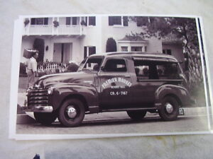1949 1950 Chevrolet Canopy Panel Truck 11 X 17 Photo Picture