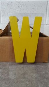 Outdoor Plastic Sign Letters 8 Inch