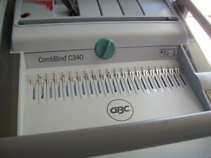 Combbind c340 binding machine Gbc
