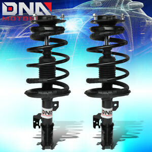 For 2002 2003 Toyota Camry Suspension Pair Front Lh rh Coil Spring Shock Struts