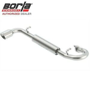 Borla 11813 Axle back Exhaust 2011 2016 Scion Tc 2 5l At mt Fwd 2dr