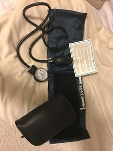 New Moore Medical Large Adult Aneroid Sphygmomanometer Blood Pressure Cuff
