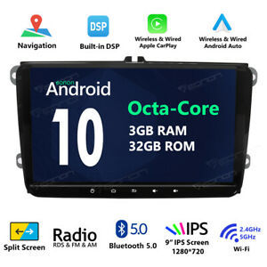 Android 9 0 4core For Vw Volkswagen Jetta Passat Eos Car Gps Stereo Dvd Radio I