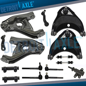 15pc Complete Front Suspension Kit Chevy Gmc C1500 C2500 Suburban Tahoe 2wd