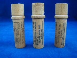 Lot Of 3 The Boye Needle Company Wood Holder All Are Different
