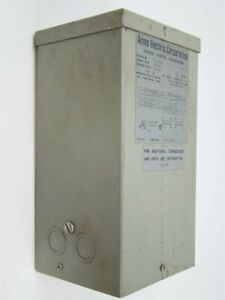 Acme Electric T 1 53011 General Purpose Transformer 1 5kva 240x480 120 240