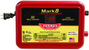Parmak Mark 8 7 Low Impedance Ac Powered Electric Fence Charger 110 120 Vac I