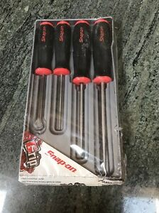 Snap On 4 Pc Awl And Hook Tool Set New Full Size