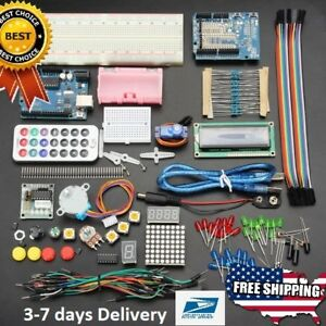 New Basic Starter Learning Kit For Arduino No Battery Version Geekcreit Uno R3