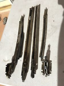1986 1987 Honda Crx Sunroof Guide And Rails Parts