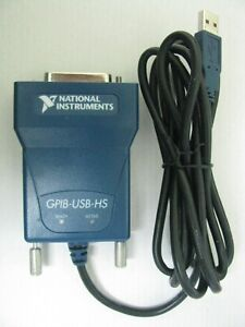 National Instruments Ni Gpib usb hs Interface Adapter Ieee 488 Controller
