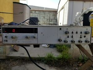 Hp 5328a 500mhz Universal Counter With Option H99 As is