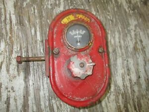Ih Farmall M H Switch Box With Light Switch And Amp Gauge Antique Tractor