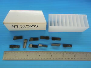 10 Pcs Thinbit Lgt 010d5r Carbide Inserts Machine Shop Tooling Machinist Tools