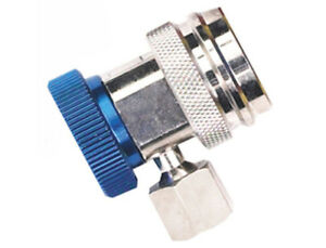 Robinair 18190a R 134a Low Side Service Coupler With Blue Actuator