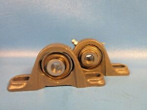 Lot Of 2 Fafnir Vak 1 2 2 bolt Pillow Block Bearings