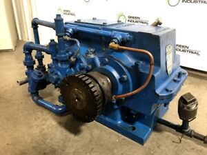 Used Foote Jones Dresser Enclosed Gear Drive Model 0701 hle 1800 Irpm Ratio 1 20