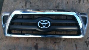 05 06 07 08 09 10 11 Toyota Tacoma Front Bumper Grille Mesh Assy Used Oem