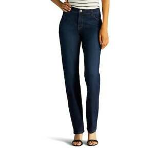 NWT Lee Classic Fit Straight Leg Stretch Jeans Size 4 Petite