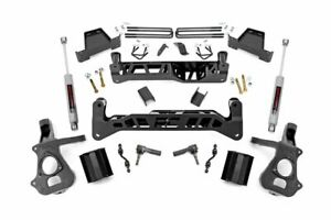 7 Lift Kit 16 18 Chevy Silverado Gmc Sierra 1500 2wd Stamped Control Arm