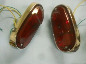 1956 1957 1958 1959 Chevrolet Suburban And Panel Truck Taillights