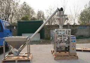Vertical Form Fill Seal Auger Package Machine Vffs