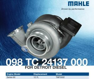 Mahle 098 Tc 24137 000 Turbo Fit Detroit Diesel 60 Series 12 7l Tmf5502