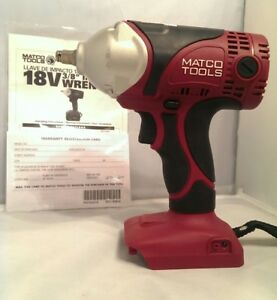Matco Tools Infinium 3 8 Impact Wrench Mcl1838iw Gun Only 18v 20v 325ftlb