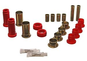Energy Suspension 4 3130r Control Arm Bushing Set Fits 74 80 Mustang Ii Pinto