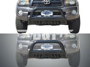 Bgt For 2016 2018 Toyota Tacoma Front Bull Bar With Skid Plate Bumper Guard B k