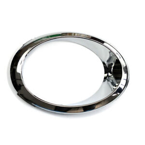 Passenger Rh Side Fog Light Bezel Chrome Trim Ring For Ford Fusion 2013 2016