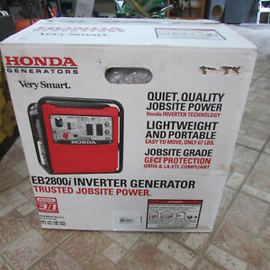 Honda Eb2800i 2 800 watt Portable Industrial Inverter Generator New Free Ship