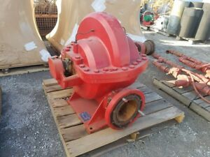 Used Fairbanks Morse 2824 A f Split Case Fire Pump 3000 Gpm