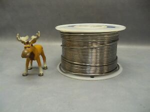 Solder Wire 63sn 37pb Alloy Alpha Metals 125 Dia 19 Pounds