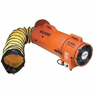 Allegro 9533 25 Confined Space 8 Plastic Ventilation Blower With 25 Ducting