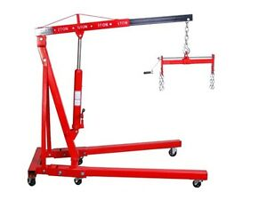 2 Ton Folding Cherry Picker Hd 1 Ton Engine Hoist Crane