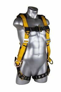 Guardian Fall Protection Seraph Safety Harness With Leg Tongue Buckles med large
