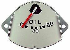 1951 1952 Ford Pickup Oil Pressure Gauge Ford Truck Replacement
