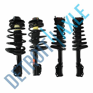 4 Front Rear Strut For 1997 1998 1999 2000 2001 Toyota Camry Solara 2 2l