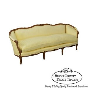 Century French Louis Xv Style Long Sofa B