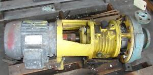 A w Chesterton Centrifugal Pump 1x2 Stainless 5 Hp used