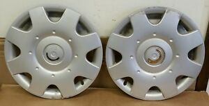 2 1998 To 2001 Volkswagen Vw Beetle 16 Inch Hubcap Wheel Covers Plastic