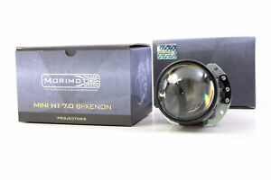 1x Morimoto H1 7 0 Hid Bixenon Low High Beam 2 5 Inch Projector With Shroud